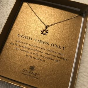 Dogeared Good Vibes Pendant Necklace